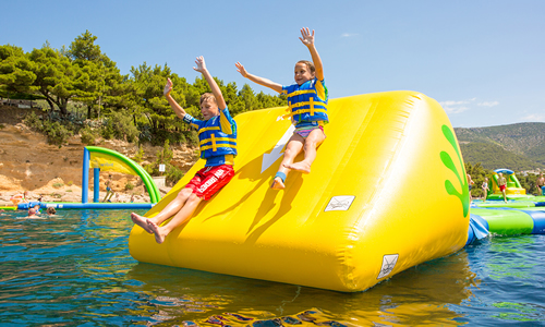 Regina Beach Aquatic Adventures - Slope
