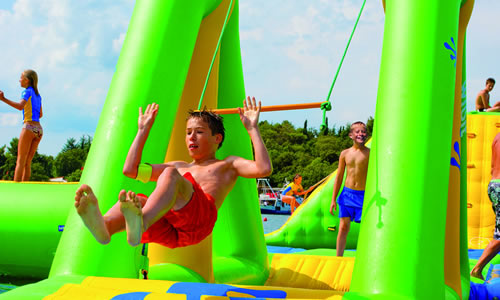 Regina Beach Aquatic Adventures - Swing